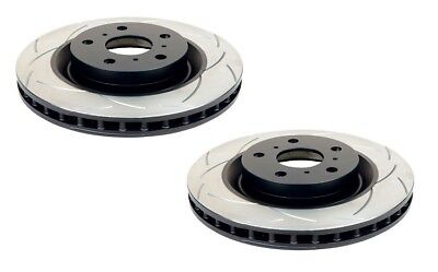 DBA T2 Slotted Brake Rotor Pair DBA2864S fits BMW X Series X5 3.0d (E70), X5 ...
