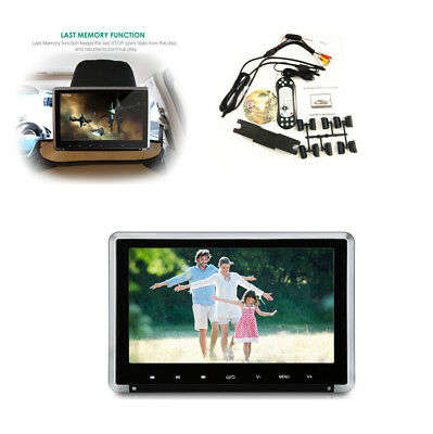 "11.6"" HD 1080P Car SUV Headrest Monitor Auto DVD Player +HDMI/FM/IR/USB/SD/Game"