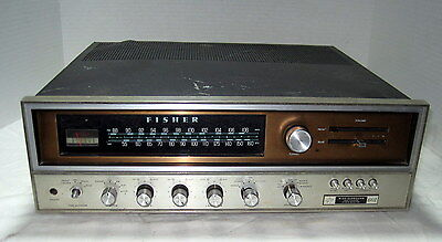 Uncommon Fisher Model 601 Four Channel AM-FM Receiver=Parts or Repair!