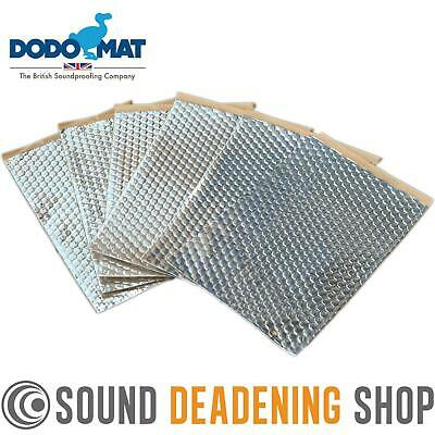 Dodo Dead Mat Hex Sound Deadening 6 Sheets 6sq.ft Car Vibration Proofing