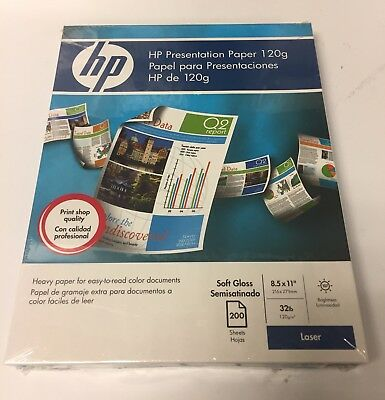 """NEW HP Q6541A 8 1/2 x 11"""" Presentation Paper with FREE SHIPPING!!"""