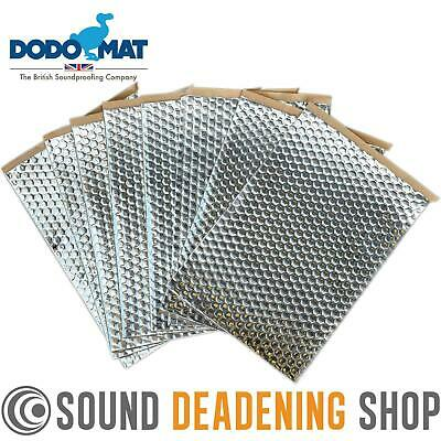 Dodo Dead Mat Hex Sound Deadening 8 Sheets 8sq.ft Car Van Vibration Proofing Mat