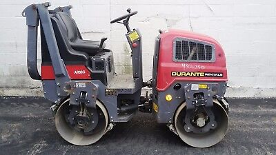 2014 Chicago Pneumatic AR90G Tandem Smooth Drum Vibratory Roller - Only 287 Hrs.