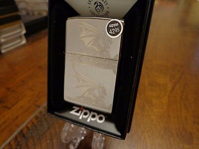 Anne Stokes Gothic Dragons Zippo Lighter Mint In Box 2015