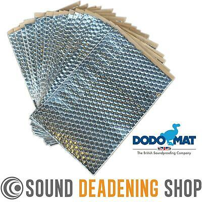 Dodo Dead Mat Hex Sound Deadening 20 Sheets 20sq.ft Car Vibration Proofing
