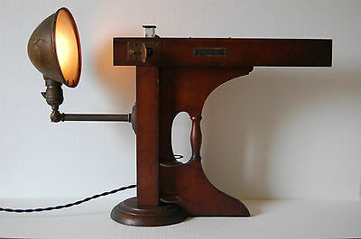 1924 Union Colorimeter Sinclair Refining Adjustable Industrial Antique Lamp Oil