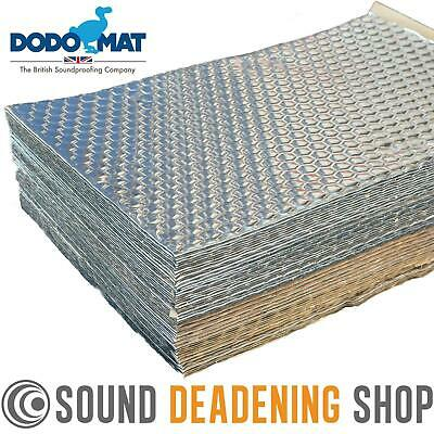 Dodo Dead Mat Hex Sound Deadening 50 Sheets 50sq.ft Car Vibration Proofing Mat