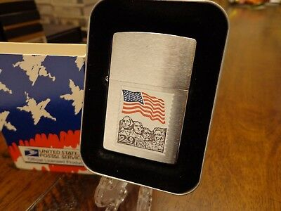 Mount Rushmore Usps Postal Series Zippo Lighter Mint In Box 1999