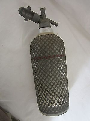 Rare 1930s Antique Soda Syphon Water Sparkletts Bottle Art Deco ENGLAND