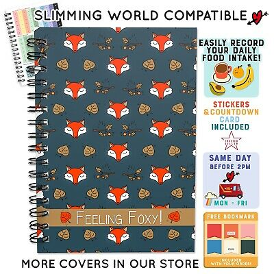 Food Diary Slimming World Compatible Planner Tracker Diet Book Weight Loss C/39
