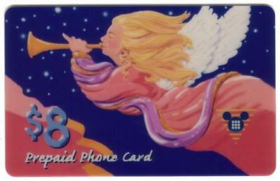 $8, $15, $30. Christmas 1994 Angel Blowing Horn Set of 3: SPECIMENS Phone Card