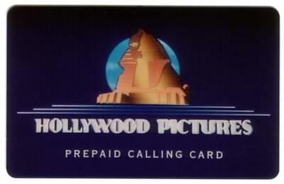 Hollywood Pictures & Sphinx Logo. Introductory Prototype Phone Card