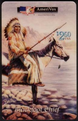Perillo: Native American Indians Complete Set of 18 Different Phone Card