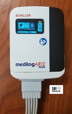 Schiller Medilog AR12 Plus High Performance Waterproof Holter Recorder 2Yr Wty