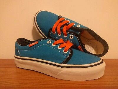 87d8d8a5154de6 VANS NEW 106 Vulcanized Pop Vault Youth Boy s Size USA 13 -  14.99 ...