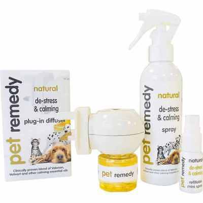 Pet Remedy Diffuser Spray Atomiser  Stress Anxiety in Dogs, Cats, Horses, pets