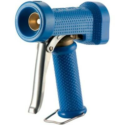Blue Heavy Duty Water Wash Down Gun 1/2 BSP 25 Bar Adjustable Spray Jaymac