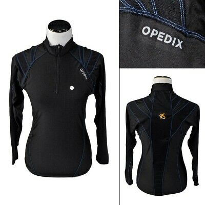 New OPEDIX by ALIGNMED Womens Zip Neck Compression Posture Shirt XL fits L NWT!
