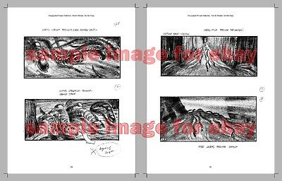 DUNE 465 storyboards in book from rare private collection 1984 David Lynch film