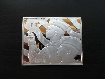 """Norman Rockwell's Fondest Memories in Proof Solid Sterling Silver """"Big Parade"""""""