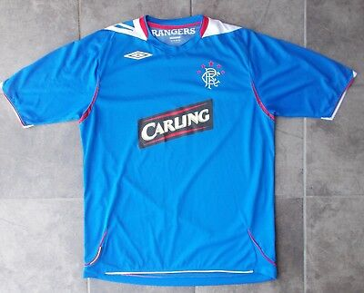 RANGERS football shirt...mint condition...large size...