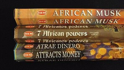 PURE HOUSE SAN Anthony Cleaning Powers 60 HEM Incense Sticks