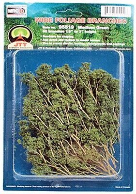 JTT Miniature Tree-Foliage Branches Grn  60/ - O