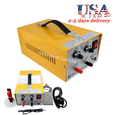【USA】2in1 Pulse Sparkle Spot Welder Gold Silver Platinum Jewelry Welding Device