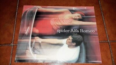 Brochure Depliant Advertisement Alfa Romeo Spider Giulia 2600 Italiano 1964
