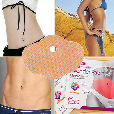 5Pcs Keep Slim Weight Loss Patches Burn Fat Ultimate Applicator Body Wraps、New
