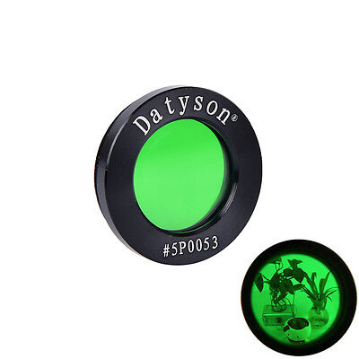 datyson metal moon flter green filter 1.25 inch 5P0053 for watch the moon、New
