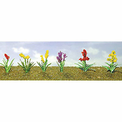 "JTT Scenery Products-Flowering Plants Assortment 2, 3/4"" (10)"
