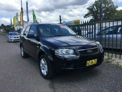 2009 Ford Territory SY Black Automatic A Wagon