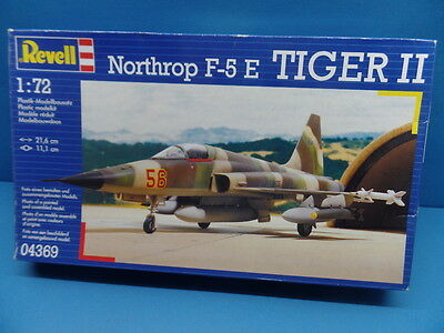 1/72 Revell (1988) :Northrop F-5E Tiger II  ( 3 Decal Optionen : Schweiz / USA)