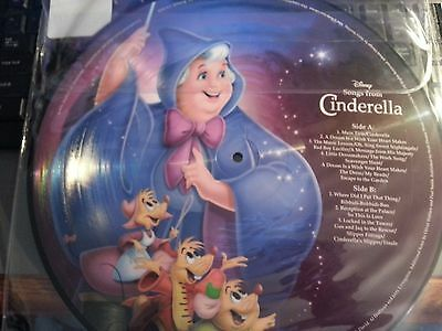 2015 Disney Parks Vinyl Record Collection Songs From CINDERELLA