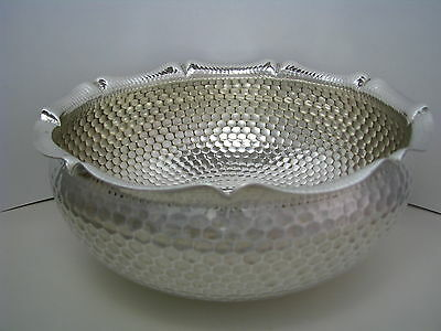 A SOLID SILVER BOWL FRUIT DISH 800 Silver by H.Mayen & Co.Berlin Germany ca1900s