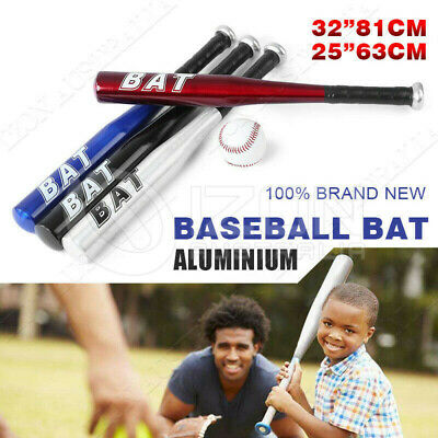 "25""63CM 32""81CM Aluminium Baseball Bat Racket Safety Defense Sports 4 Colors"