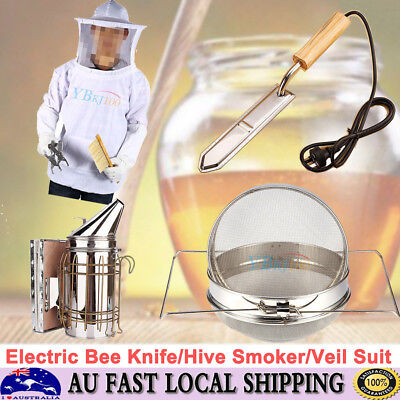 Tool/Beekeeping Veil Suit Electric Knife /Honey Strainer/Hive Smoker Equipment