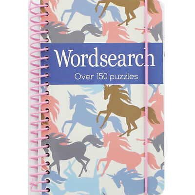 Unicorn Wordsearch Book (Paperback), Non Fiction Books, Brand New