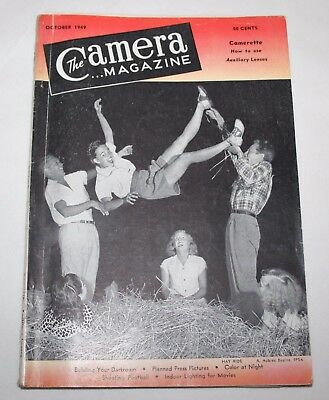 The Camera Magazine, October 1949 - How To Use Auxiliary Lenses