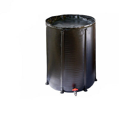 Hydroponics Flexi Collapsible Tank 50L Fold Up Water Butt 50 Litre