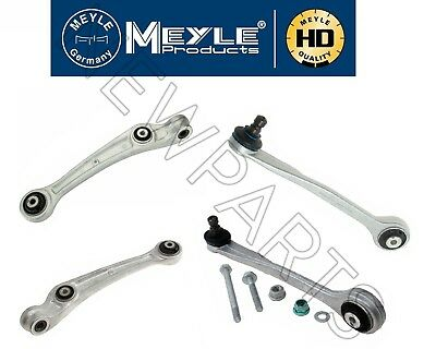 For Audi A4 Q5 S5 Front Forward Suspension Control Arm & Ball Joint KIT Meyle HD