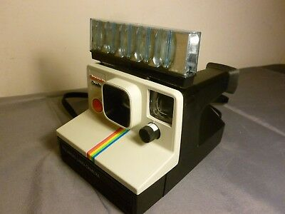 Polaroid Instant Land Camera Supercolor Onestep Sx70 + Instructions Works Well
