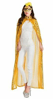 La moriposa Full Length Sequins Party Cape for Halloween Cosplay Costumes Party