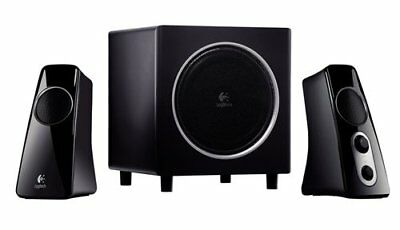 Logitech Z 523 - 2.1-channel PC multimedia speaker system - 40 Watt (total) -