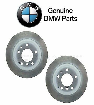 2 2 Rear Disc Brake Rotors BMW 733i 733 i 78-81 E23 PAIR BREMO