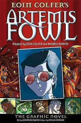 Artemis Fowl: The Graphic Novel, Good Condition Book, Eoin Colfer, Andrew Donkin
