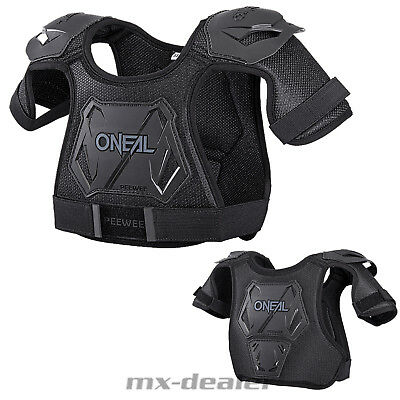 O'Neal Peewee Kinder Brustpanzer Protektor Mini Motocross MX Panzer Chest Guard