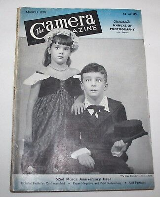 The Camera Magazine, March 1950 - Manual of Photography