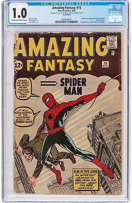 Amazing Fantasy #15 (1962, Marvel) Holy Grail of the Silver Age Affordable Key!!